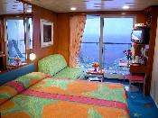 Balcony cabin photo courtesy of NCL